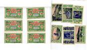1921  Berlin 6 x 50 Pfennig Mehl 91.1 Rei...