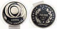 1996  Türkei 7500000 Lira 1996 KM 1048 FA...