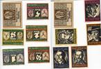 1921  Genthin 25 Pfennig - 5 Mark + Geldu...