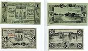 1920  Hoyer Hojer 50 Pfennig 1 Mark Mehl ...