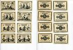 1921  Köstritz je 4 x 50 Pfennig Mehl 736...