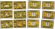 1921  Kummerfeld 2 x 25 2 x 50 Pfennig 2 ...
