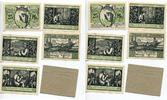 1921  Menteroda 25 Pfennig + 4 x 50 Pfenn...