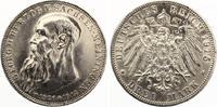 1915  3 Mark Sachsen Meiningen Georg auf Tod Jaeger 155 vz+  200,00 EUR  Excl. 7,00 EUR Verzending