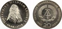 1966  20 Mark Leibniz prägefrisch  105,00 EUR  Excl. 7,00 EUR Verzending
