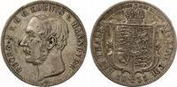 1855  Taler Hannover Ausbeutetaler ss-vz