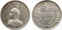 1909 A  Deutsch Ostafrika 1/4 Rupie fast vz/vz  70,00 EUR  +  7,00 EUR shipping