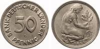 1950 G  50 Pfennig Bank Deutscher Länder ...