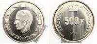 1990  BELGIEN 500 Francs 1990 Silber 60. ...