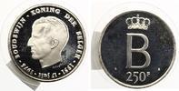 1976  Belgien 250 Francs 1976 Badouin pp