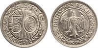 1938 E  50 Reichspfennig vz
