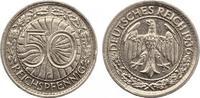 1936 G  50 Reichspfennig vz