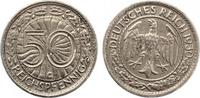 1930 G  50 Reichspfennig ss-vz