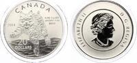 2014  Kanada 20 Dollar 2014  LUCHS  1/4 U...