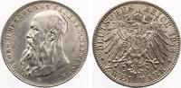 1913  2 Mark Sachsen Meiningen 1913 Jaege...