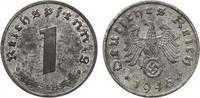 1945 E  Drittes Reich 1 Pfennig 1945 E  J...
