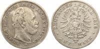 1876 A  2 Mark Preussen gutes ss
