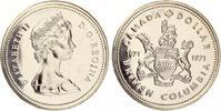 1971  1 Dollar Kanada Wappen von Britisch Kolumbien prooflike  12,00 EUR  +  4,00 EUR shipping