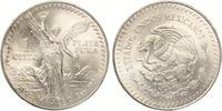 1991  Mexiko Libertad 1 Unze Silber Siege...