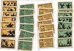1921  Ansbach 7 x 25 Pfennig 7 x 75 Pfenn...