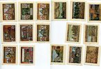 1921 - 1923  Burgsteinfurt 8 x 50 Pfennig...
