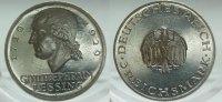 1929 G  3 Mark Lessing VZ aus PP leicht berieben  165,00 EUR  Excl. 7,00 EUR Verzending
