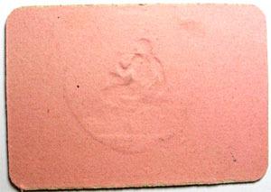 carton numismatique des mines mines de graissessac carton de dix centimes tampon sec fleuron. Black Bedroom Furniture Sets. Home Design Ideas