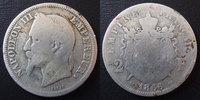 France  NAPOLEON III, 2 francs 1866 K Bordeaux, G.527 B à TB Rare!