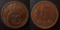 1917 Danemark, Denmark Danemark, Denmark, 5 ores 1917, Christian x, KM... 13,50 EUR  +  6,00 EUR shipping