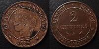 1891 A France 2 Centimes cérès 1891 A Paris, G.105 TTB ss  8,50 EUR  +  6,00 EUR shipping