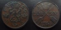 1748 Suède, Sweden SUEDE,SWEDEN, Frederik I, 2 ores 1748, 25,22 grms, ... 60,00 EUR  +  6,00 EUR shipping