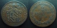 1853 R Vatican, papal states VATICAN, Pie IX, Pius IX, 2 baiocchi 1853... 18,50 EUR  +  6,00 EUR shipping