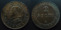 1866 R Vatican, papal states VATICAN, PIE IX, PIUS IX, 2 soldi 1866 R,... 35,00 EUR  +  6,00 EUR shipping