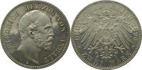 2 Mark 1896 A Deutschland Anhalt J20 2 Mark Friedrich I.  A  PP,feinst!herrliche alte Patina!