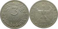 Deutschland J349 3 Mark Umlaufmünze  G