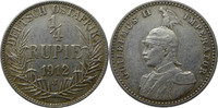 1/4 Rupie 1912 J Deutsch-Ostafrika J720 1/...