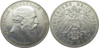 5 Mark 1907 Deutschland Baden J37 5 Mark F...