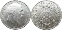 2 Mark 1906 G Deutschland Baden J32 2 Mark...