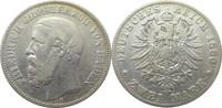 2 Mark 1880 G Deutschland Baden J26 2 Mark...