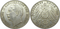 3 Mark 1915 G Deutschland Baden J39 3 Mark...