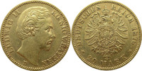 20 Mark Gold 1876 D Deutschland Bayern J19...