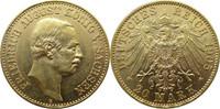 20 Mark Gold 1905 E Deutschland Sachsen J2...