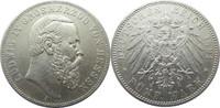 5 Mark 1891 A Deutschland Hessen J71 5 Mar...
