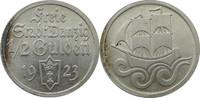 1/2 Gulden 1923 Danzig J.D6 1/2 Gulden Dan...