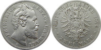 2 Mark 1876 A Deutschland Anhalt J19 2 Mar...