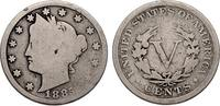 5 Cents 1885 USA Liberty Nickel - sehr sel...