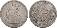 1/2 Dollar 1858 USA Half Dollar s-ss