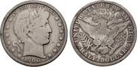 1/2 Dollar 1900 O USA Barber Half Dollar s...
