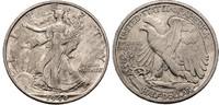 1/2 Dollar 1940 S USA Half Dollar ss-vz