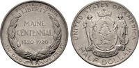 1/2 Dollar 1920 USA Half Dollar - Maine Ce...